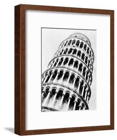 Leaning Tower of Pisa from Below-Bettmann-Framed Photographic Print