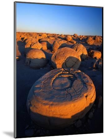 Pumpkin Patch Concretions-Richard Cummins-Mounted Photographic Print