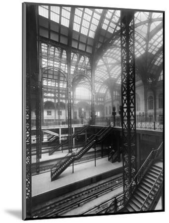 Pennsylvania Station, New York--Mounted Photographic Print