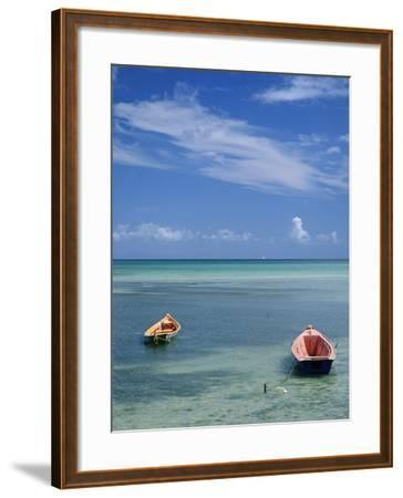 Rowboats in Shallow Water-Macduff Everton-Framed Photographic Print