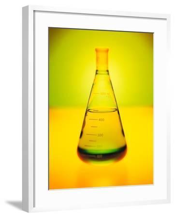 Chemistry Beaker-Thom Lang-Framed Photographic Print