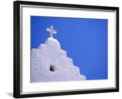 Old Church in Mikonos-David Ball-Framed Photographic Print