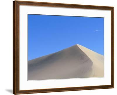 Sand Dune and Blue Sky-Paul Souders-Framed Photographic Print