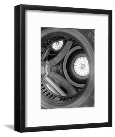 Interior of Essex County Courthouse Rotunda-Karen Tweedy-Holmes-Framed Photographic Print