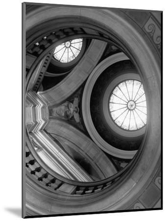 Interior of Essex County Courthouse Rotunda-Karen Tweedy-Holmes-Mounted Photographic Print