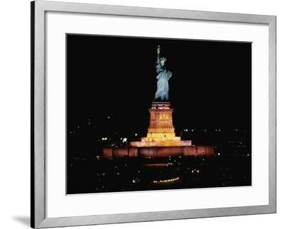 Statue of Liberty-Joseph Sohm-Framed Photographic Print