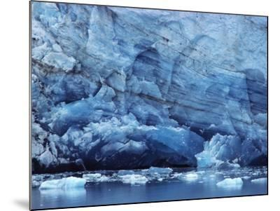 Ice Breaking off Glacier-Mick Roessler-Mounted Photographic Print