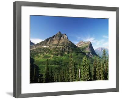 Glaciated Mountain Peaks-Neil Rabinowitz-Framed Photographic Print