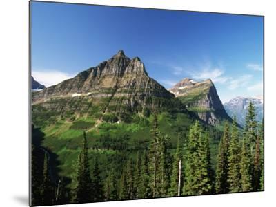 Glaciated Mountain Peaks-Neil Rabinowitz-Mounted Photographic Print