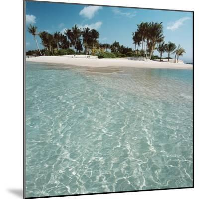 Shallow Water Near Beach--Mounted Photographic Print