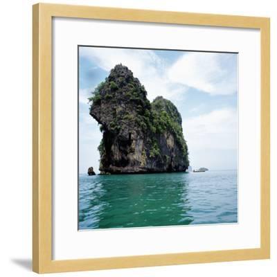 Coastline Thailand--Framed Photographic Print