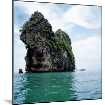 Coastline Thailand--Mounted Photographic Print