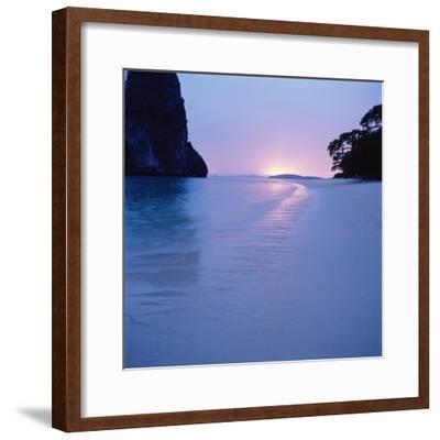 Tropical Beach--Framed Photographic Print