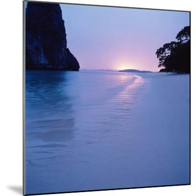 Tropical Beach--Mounted Photographic Print