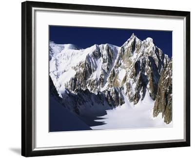 Mont Maudit in the French Alps-S^ Vannini-Framed Photographic Print