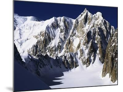 Mont Maudit in the French Alps-S^ Vannini-Mounted Photographic Print