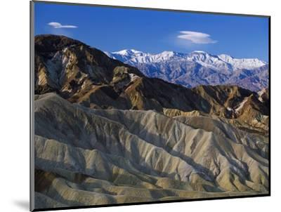 Death Valley Landscape-Bob Rowan-Mounted Photographic Print