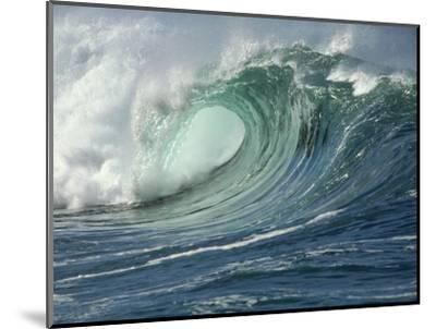 Shorebreak Waves in Waimea Bay-Rick Doyle-Mounted Photographic Print