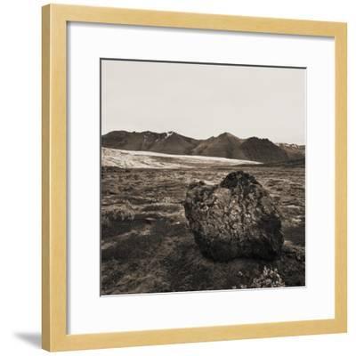 Boulder in Glacial Till--Framed Photographic Print