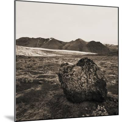 Boulder in Glacial Till--Mounted Photographic Print