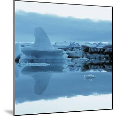 Iceberg Shaped Like a Whale Fin--Mounted Photographic Print