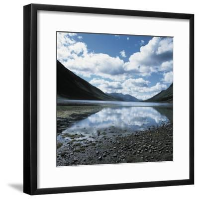 Clouds Reflected in Loch Etive--Framed Photographic Print