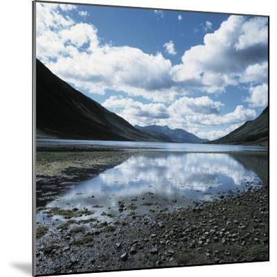 Clouds Reflected in Loch Etive--Mounted Photographic Print