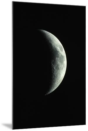 Crescent Moon-Roger Ressmeyer-Mounted Photographic Print
