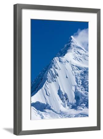 Mountain Peaks, Anvers Island, Antarctica-Paul Souders-Framed Photographic Print