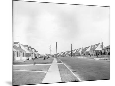 Houses in Levittown, Long Island--Mounted Photographic Print