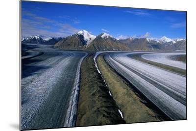 Russell Glacier and Moraines-Paul Souders-Mounted Photographic Print