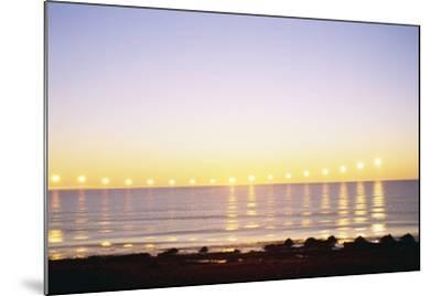 Midnight Sun over Sigurdarstadavik Bay-Paul Souders-Mounted Photographic Print