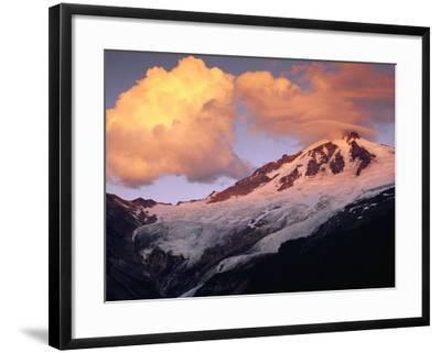 Coleman Glacier and Mount Baker-Paul Souders-Framed Photographic Print