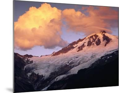 Coleman Glacier and Mount Baker-Paul Souders-Mounted Photographic Print