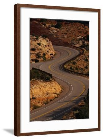 Winding Highway-Paul Souders-Framed Photographic Print