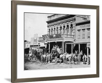 Wells Fargo Express Office-Philip Gendreau-Framed Photographic Print