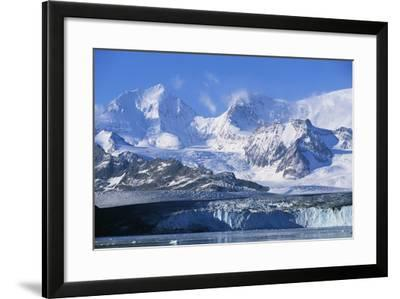 Nordenskjold Glacier and Allardyce Mountain Range-Paul Souders-Framed Photographic Print