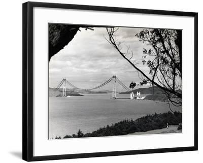 General View of Golden Gate Bridge--Framed Photographic Print