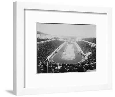 1896 Olympic Games in Athens--Framed Photographic Print