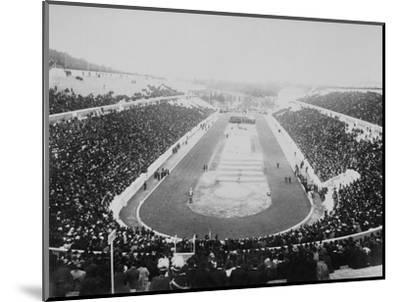 1896 Olympic Games in Athens--Mounted Photographic Print