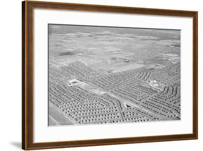 New York Suburb of Levittown--Framed Photographic Print