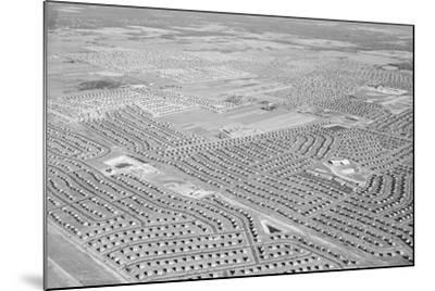 New York Suburb of Levittown--Mounted Photographic Print