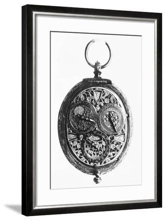 17th-Century German Calendar Watch--Framed Photographic Print