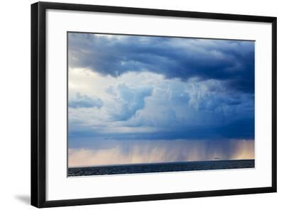 Storm Clouds, Hudson Bay, Canada-Paul Souders-Framed Photographic Print