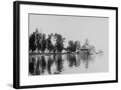 Chautauqua House--Framed Photographic Print