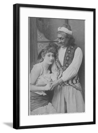 Actor and Actress in Ali Baba and the Forty Thieves--Framed Photographic Print