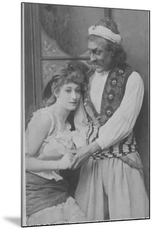 Actor and Actress in Ali Baba and the Forty Thieves--Mounted Photographic Print