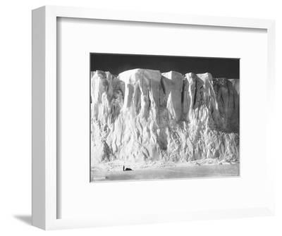Face of a Glacier--Framed Photographic Print