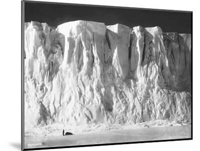 Face of a Glacier--Mounted Photographic Print