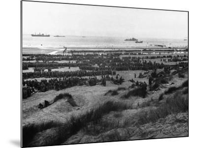 Dunkirk Evacuation--Mounted Photographic Print
